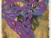 Purple & Green Vortex 300, Alyce Gottesman