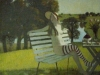 Andrei Averyanov Summer 2002 oil on canvas 41x41