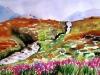 "Scotland - Isle of the Sky I, Watercolor, 10\""x12\"", Hana Aviv"