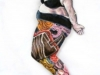 """Jane Zweibel \""""Self-Portrait As Midlife Mermaid\"""""""