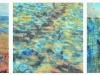 Oil Water Blood (triptych)