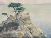 Cypress Point, watercolor, 21x17, John Wolff