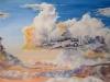 Headin Home, watercolor, 22x29, John Wolff