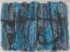 "Kosode V, Collage, 9\""x12\"", Judith Cantor"