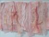 """Momo Kosode, Collage, 9\""""x12\"""", Judith Cantor"""