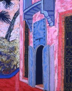 Blue Door, Moroco