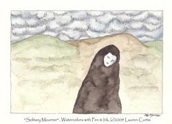 Lauren Curtis - Solitary Mourner