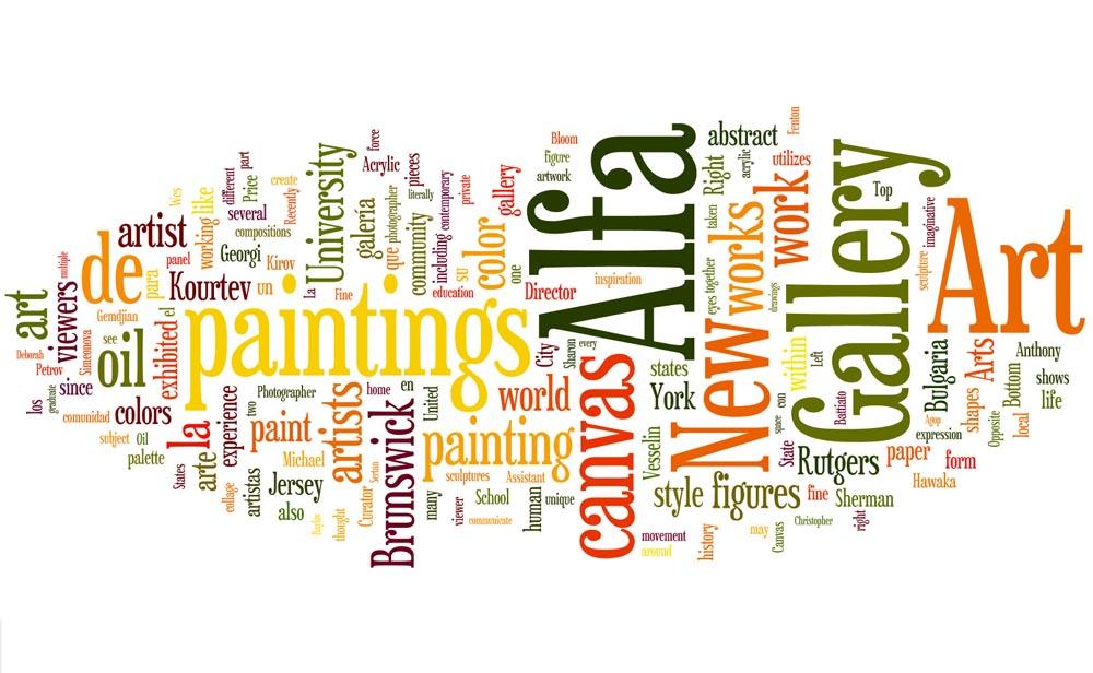 Alfa Wordle – Alfa Art Gallery