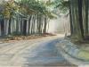 Catskill Morning, watercolor, 22x28, Allen Taylor