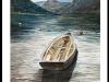 A-boat-at-lake-Cuomo-Framed