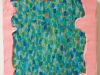 Little Finger,acrylic, gouache on wood, 12x12, Ethan Sherman