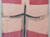 Neü Shorts,acrylic, spray paint and gouache on wood, 9x11, Ethan Sherman