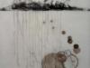 Imaginary Landscape, Encaustic on panel, 10x10, Francesca Azzara