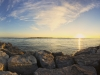 Barnegat inlet Panorama at Sunrise
