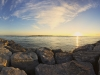 Barnegat inlet Panorama at Sunrise