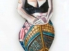 "Jane Zweibel ""Self-Portrait As Midlife Mermaid\"""