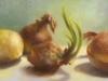 Flourish, oil, 9x12, Jo Bradney
