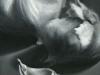 Garlic, Black & White, oil, 12x9, Jo Bradney