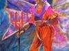 Devil Wannabe, watercolor, 30x22, Judy Ballance