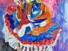 Mocko Jumbie, watercolor, 30x22, Judy Ballance