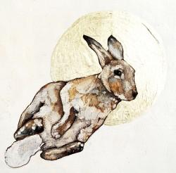 9. Fleeing Rabbit_Detail