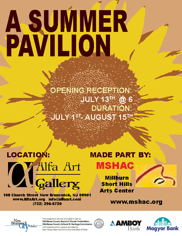 MSHAC - SUMMER PAVILION FLYER