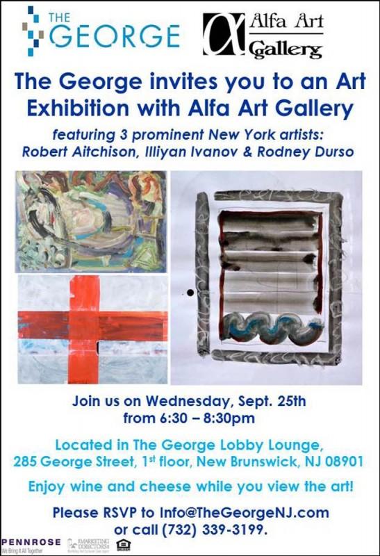 The George Alfa Gallery Invite