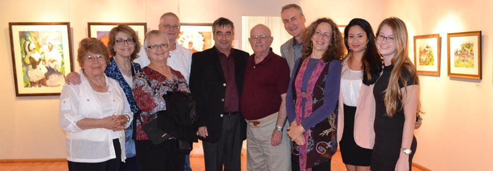 Watercolor Exhibition - Oct 2012